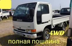 Nissan Atlas. 4WD, борт 1,5 тонны, 2 700куб. см., 1 500кг., 4x4