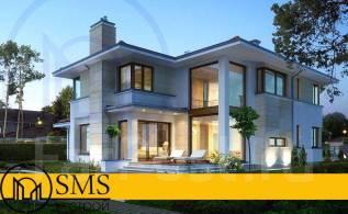 """Проект дома """"M-Altei"""". 100-200 кв. м., 2 этажа, 4 комнаты, комбинированный"""