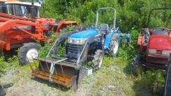 Iseki. Трактор 24 л. с., 4wd, ВОМ, навеска на 3 точки, погрузчик, вилы