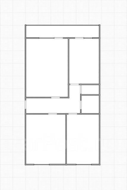 3-комнатная, улица Барнаульская 14. частное лицо, 60кв.м. План квартиры