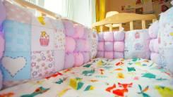 Бортики в кроватку.