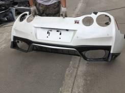 Бампер задний на Nissan GTR R35 2017
