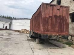 Кзап 9370. Полуприцеп контейнеровоз, 27 000кг.