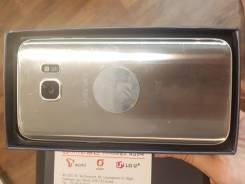 Samsung Galaxy S7. Б/у, 32 Гб, Серебристый, 4G LTE, Dual-SIM, Защищенный
