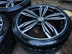 """Летние колеса Dunlop 255/35 R20 литье Anhelo. 8.5/9.5x20"""" 5x114.30 ET38/45 ЦО 73,1мм."""