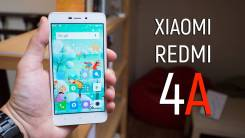 Xiaomi Redmi 4A. Б/у, 16 Гб, Розовый, 3G, 4G LTE, Dual-SIM