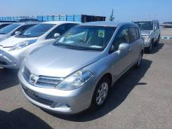 Фара. Nissan Tiida, C11, C11X