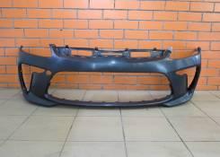 Бампер передний оригинальный Kia Rio 4 [2017-н. в. ]
