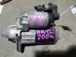 Стартер. Nissan Note Двигатели: HR12DDR, HR12DE