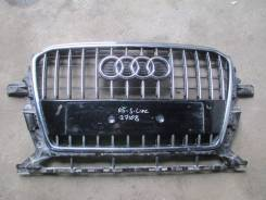 Решетка радиатора. Audi Q5, 8RB Двигатели: AAH, CAEB, CAGA, CAGB, CAHA, CAHB, CALB, CCWA, CCWB, CDNA, CDNB, CDNC, CGLA, CGLB, CHJA, CJCA, CJCB, CMGA