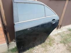 Дверь задняя левая Toyota Camry, ACV40, 2AZFE, цвет черный