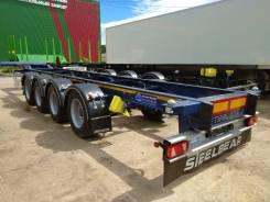 Steelbear. 4-х осный контейнеровоз SteelBear PF-41L-2 под 40-ку, 2019 г. в., 44 200кг.