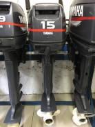 Yamaha. 15,00л.с., 2-тактный, бензиновый, нога S (381 мм), 2001 год год