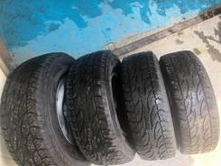 Bridgestone Dueler A/T. Грязь AT, 2011 год, 40%, 4 шт