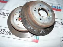 Диск тормозной. Hyundai Tucson, JM Двигатели: D4EA, G4GC, G6BA