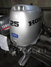 Honda. 25,00л.с., 4-тактный, бензиновый, нога S (381 мм), 2005 год год