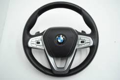 Руль, кожа, с лепестками (без подушки) BMW 5-Series 2016 [32306871732]