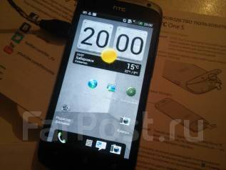 HTC One S. Б/у, Серый