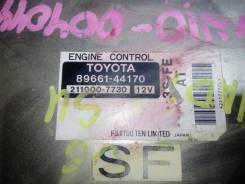 Коробка для блока efi. Toyota Nadia, SXN10, SXN10H Двигатель 3SFE