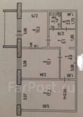 2-комнатная, улица Морозова Павла Леонтьевича 96. Индустриальный, агентство, 54кв.м.