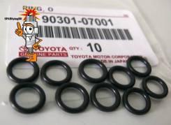 Кольцо форсунки/инжектора. Toyota 90301-07001*00, (Япония). Toyota: Corona, Lite Ace, Windom, Scepter, Aristo, Ipsum, Avensis, Sprinter Trueno, Coroll...