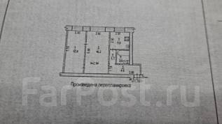 2-комнатная, улица Карла Маркса 124. Железнодорожный, агентство, 44кв.м.