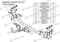 Фаркопы. Nissan Juke, F15, F15E
