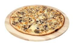 Пицца грибная.