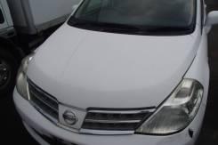 Решетка под дворники. Nissan Tiida Latio, SC11