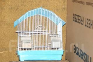 Продам клетку для попугая бу