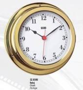 Часы полированная латунь, арабский циферблат 150х120х45 мм