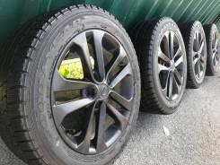 """Оригинальные колеса Nissan R17+жирная зима Goodyear 215/55/17. 7.0x17"""" 5x114.30 ET47"""