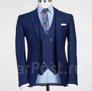 cadb262c1fdc Твидовый приталенный свадебный мужской костюм европейского покроя ...
