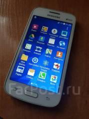 Samsung Galaxy Star Advance. Б/у, до 8 Гб, Белый, Dual-SIM