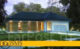 """Проект дома """"M-Stage 2"""". 100-200 кв. м., 1 этаж, 3 комнаты, комбинированный"""