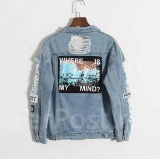 Куртки джинсовые. 42, 44, 46, 48, 50, 52. Под заказ