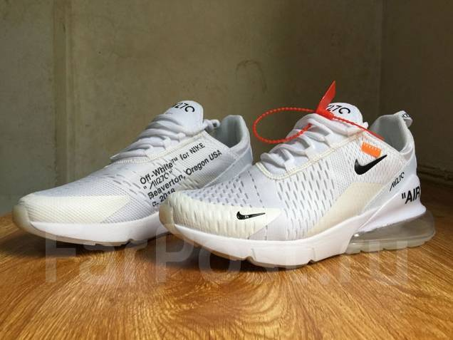 725feca48eaa Кроссовки женские Nike Air Max 270 OFF White Womens running shoes ...
