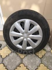 """Комплект летних колес R16 на штатных стальных дисках от Suzuki SX4. 6.0x16"""" 5x114.30 ET-50"""