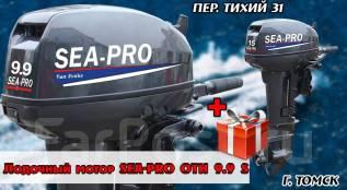 Sea-Pro. 9,90л.с., 2-тактный, бензиновый, нога S (381 мм), 2017 год год