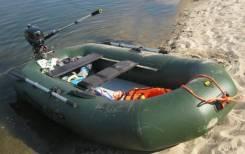 Мастер лодок Таймень N-270. двигатель подвесной