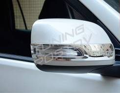 Накладка на зеркало. Toyota Land Cruiser Toyota Land Cruiser Prado, GDJ150, GDJ150L, GDJ150W, GDJ151W, GRJ150, GRJ150L, GRJ150W, GRJ151W, KDJ150, KDJ1...