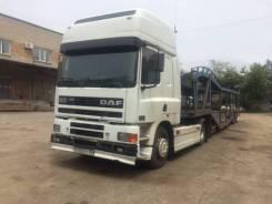 DAF. Продам ДАФ 85СF в сцепке с автовозом., 11 000куб. см., 25 000кг.