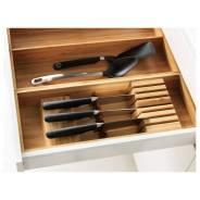ВАРЬЕРА Подставка для ножей, бамбук, 50*20см, ИКЕА, в наличии