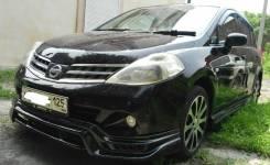 Обвес кузова аэродинамический. Nissan Tiida. Под заказ