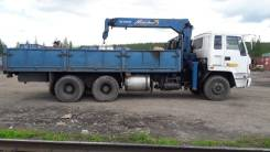 Isuzu V275. Продам грузовик с манипулятором, 13 346куб. см., 20 000кг., 6x4