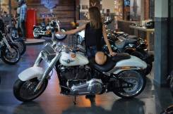Harley-Davidson Fat Boy. 1 868куб. см., исправен, птс, без пробега