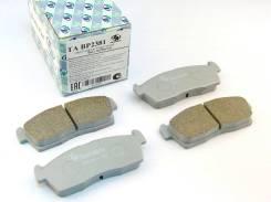 Дисковые тормозные колодки TRUSTAUTO TABP2381
