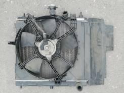 Радиатор охлаждения двигателя. Nissan Note, E11, E11E, ZE11 Двигатели: HR15DE, HR16DE