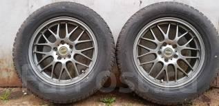 "Зимние Колеса Bridgestone Blizzak 225/65R17, диски Bridgestone Glitzer. 7.0x17"" 5x114.30 ET52 ЦО 73,1мм."