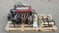 Двигатель в сборе. Honda Accord, CF4, CF5, CL1 Honda Torneo, CF4, CF5, CL1 Двигатели: H22A, H22A1, H22A7